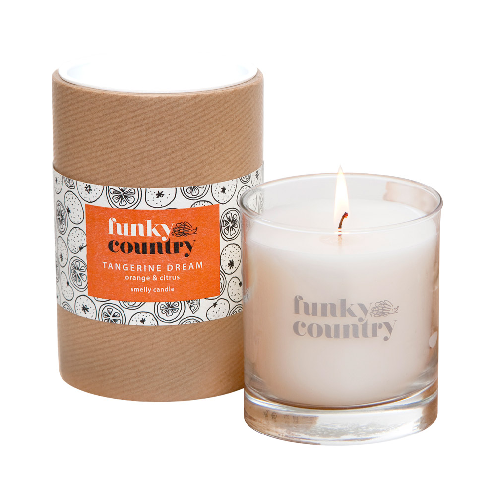 Tangerine Dream Candle