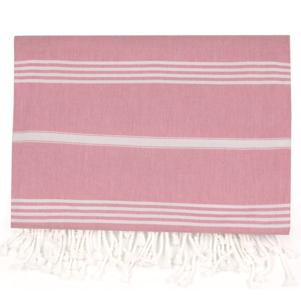 Hammam Large Towel - Coral