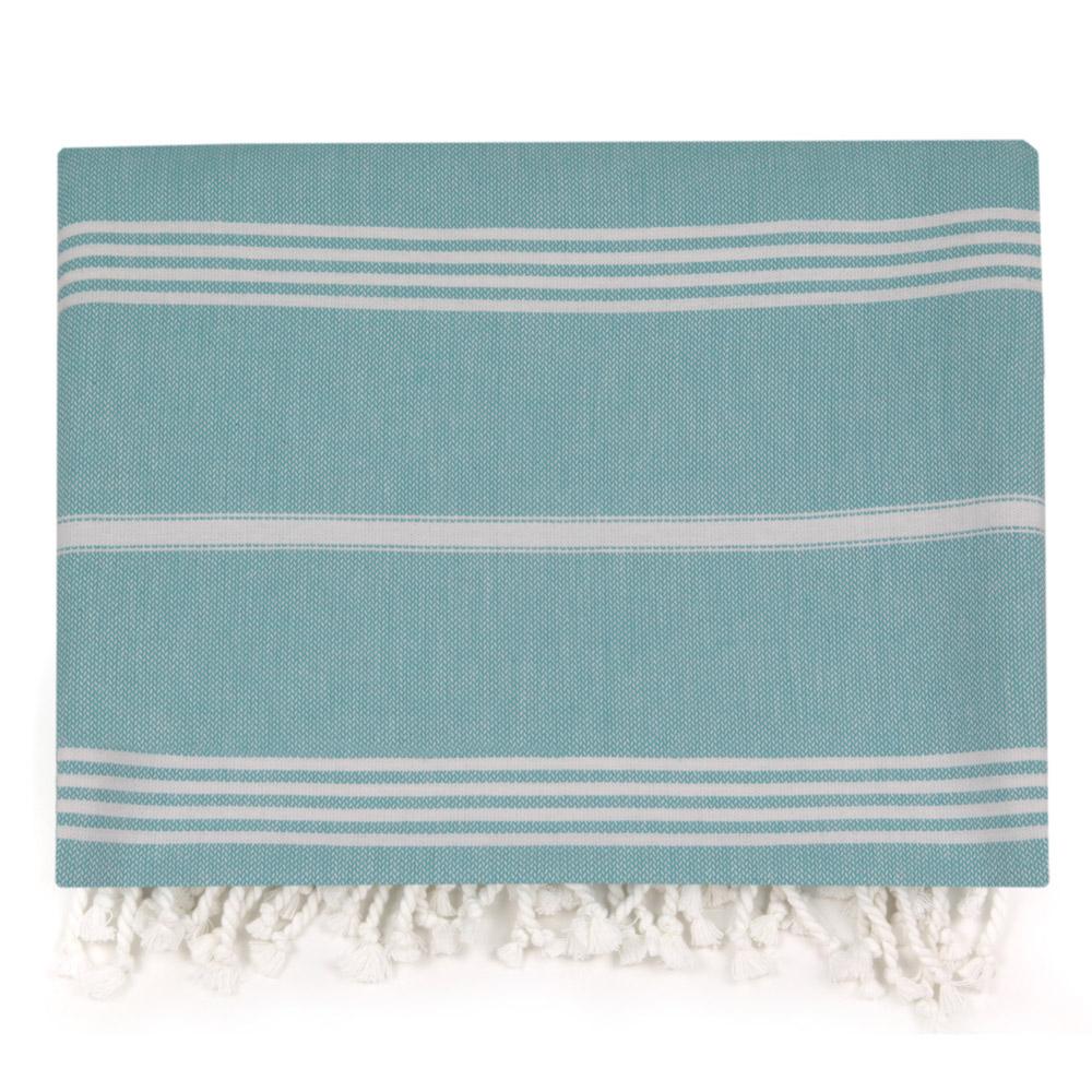 Hammam Large Towel - Turquoise